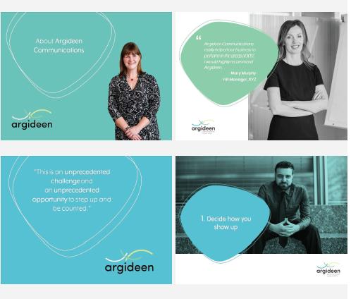 Brand design cork. Branding Design. Argideen Communications. Diane Higgins Design Cork.