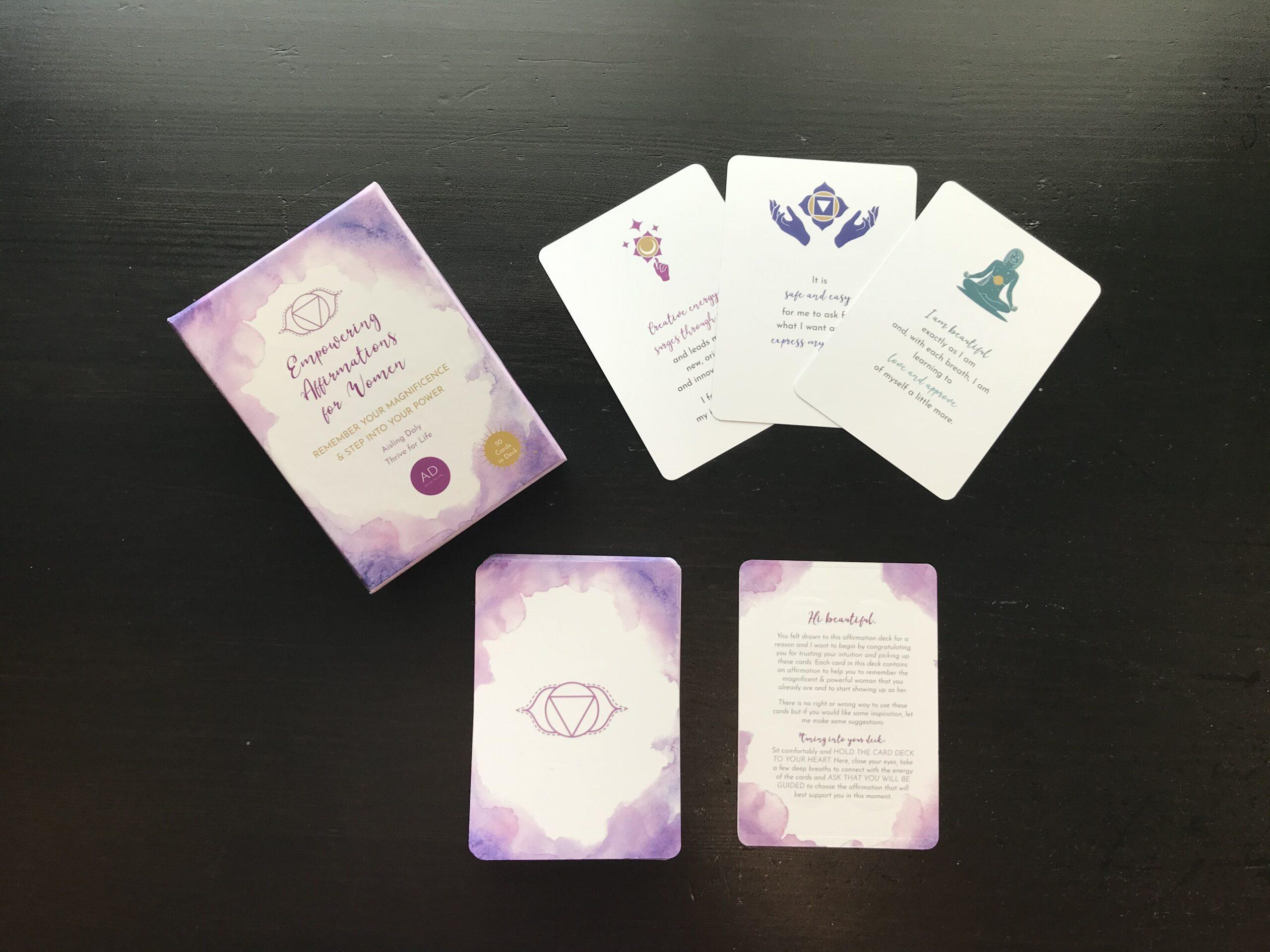 Affirmation cards design_5